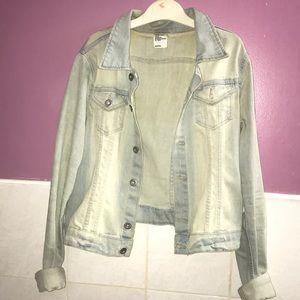 H&M light blue Jean jacket